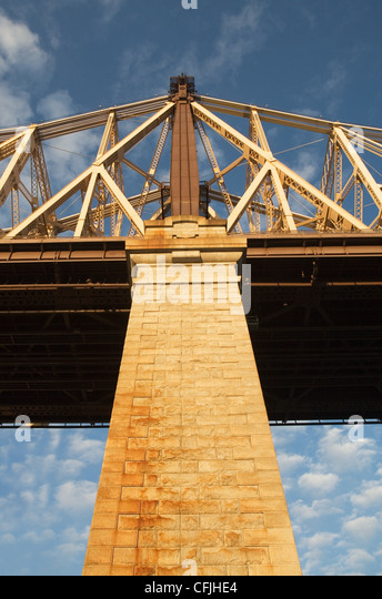 Low angle view of bridge - Stock Image