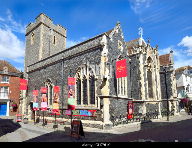 Canterbury, Kent, UK. 'Canterbury Tales' visitor attraction in St Margaret's Street, since 1987. Based - Stock Image
