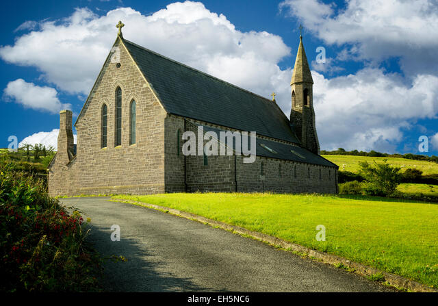Church of John the Baptist. Catholic church in Dingle, Ireland - Stock-Bilder