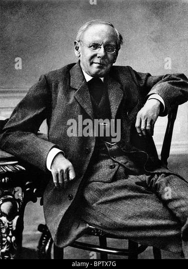 PETER ROSEGGER WRITER (1908) - Stock Image