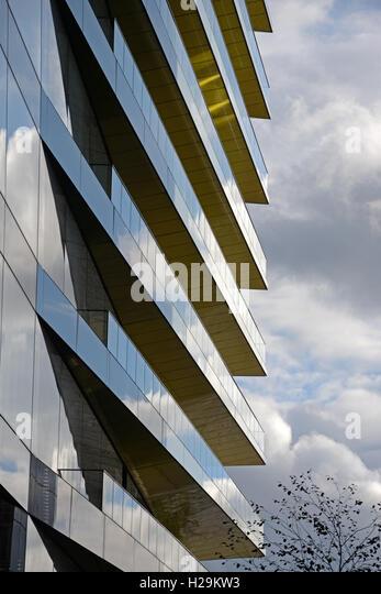 Architecture detail, Swan Lane, London. - Stock Image