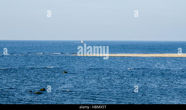 Estonian Baltic Sea coast - Stock Image