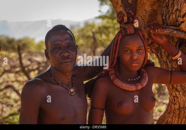 young tribe girl african Himba