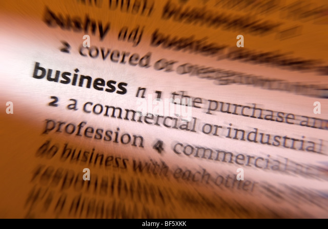 Concept - business - Stock Image