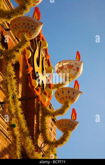 Diwali Festival, Leicester, England, UK - Stock Image