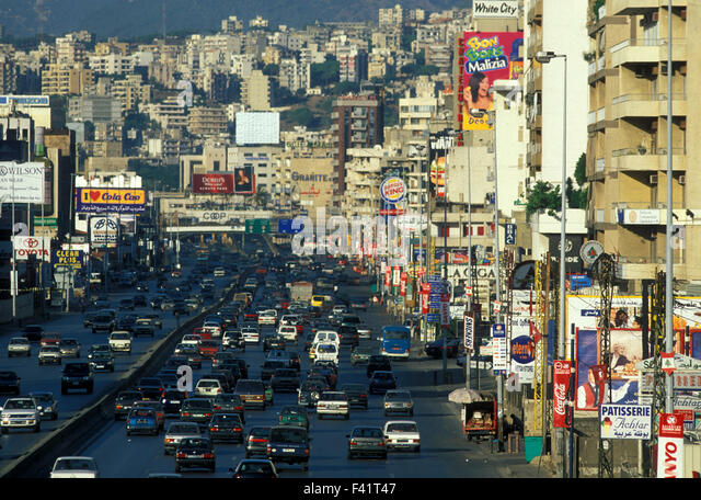MIDDLE EAST LEBANON BEIRUT - Stock Image