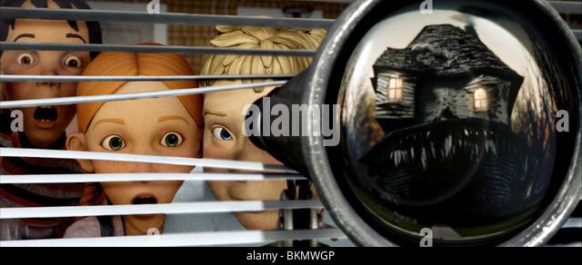 MONSTER HOUSE (2006) ANIMATION MNHO 001-10 - Stock Image