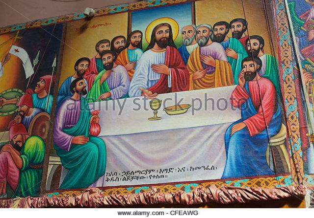 last supper mural stock photos last supper mural stock