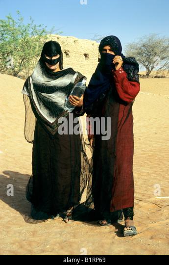 Local woman wearing traditional burka, Oman, Arabia, Arabic Peninsula, Middle Asia, Asia - Stock Image
