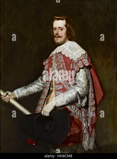 Philip IV of Spain, Felipe IV, was King of Spain - Stock-Bilder