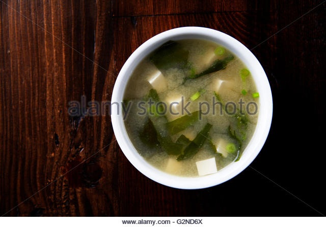 Miso soup - Stock-Bilder