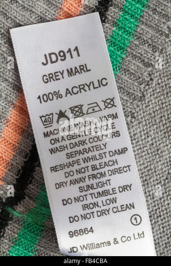 100 acrylic yarn washing instructions
