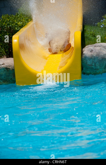 Water Park Slide Splash Stock Photos Water Park Slide Splash Stock Images Alamy