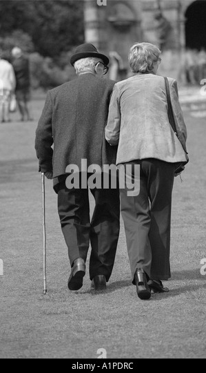 Old Man Using Walking Stick Stock Photos & Old Man Using ... Stick Man Walking Away