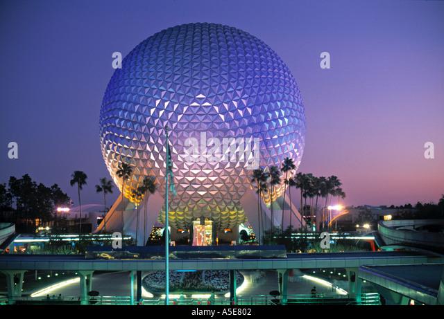 Disneyland Orlando Florida USA - Stock Image