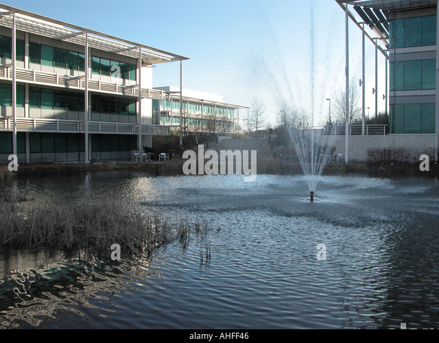 Microsoft Campus Building  Reading England United Kingdom