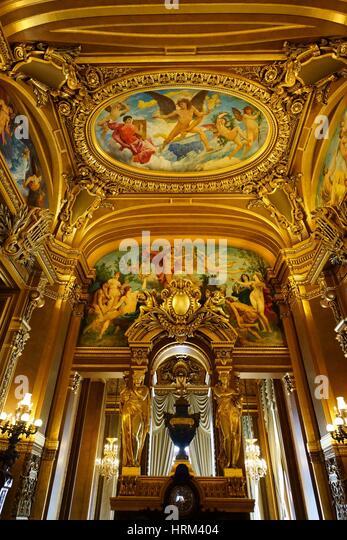 Paris Opera. France - Stock Image
