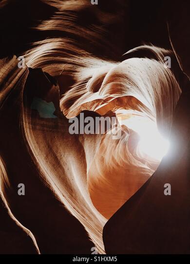 Antelope Canyon - Stock-Bilder
