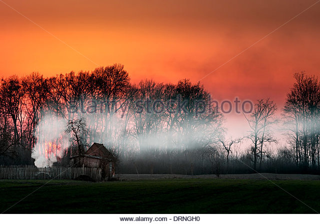 Old village house. - Stock Image