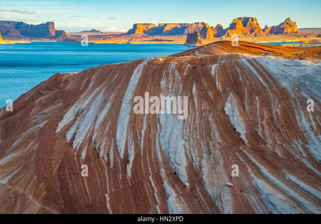 The Pipeline, Glen Canyon National Recreational Area, Utah  Lake POwell - Stock-Bilder