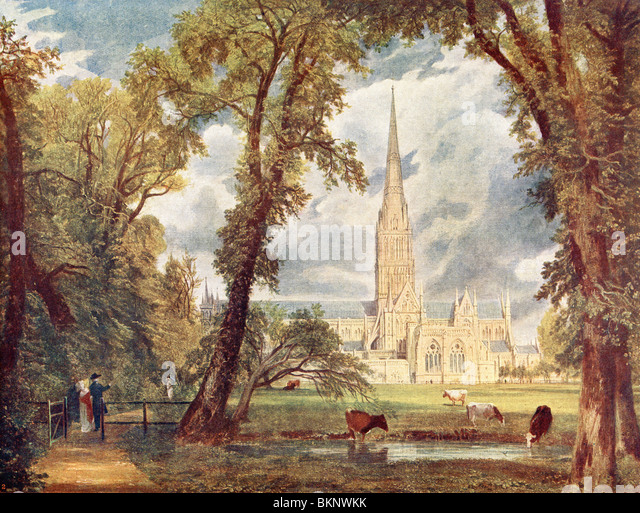 Salisbury Cathedral - Stock Image