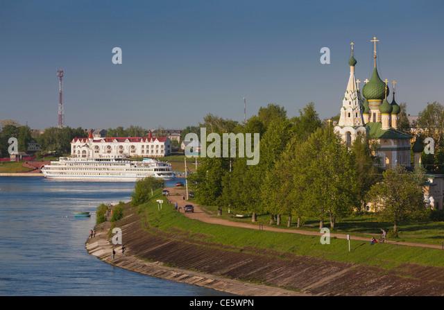 Yaroslavl Russia Volga River Stock Photos  U0026 Yaroslavl