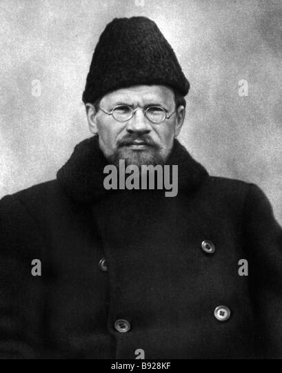 Bolshevik Mikhail Kalinin - Stock Image