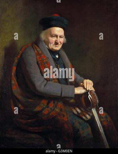 Patrick Grant 1714 - 1824  - - Stock Image