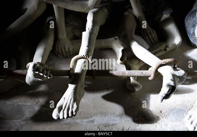Con Son Island prison, Vietnam - Stock Image