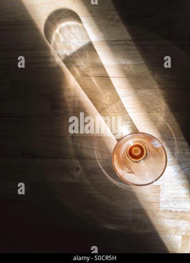 Empty coffee glass - Stock-Bilder