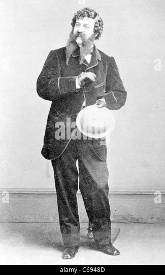 Frank S. Chanfrau, actor - Stock-Bilder