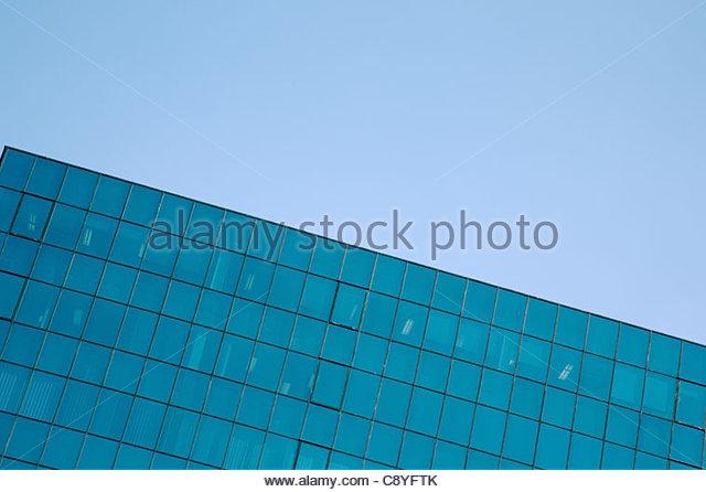 corporate building with office windows - Stock-Bilder