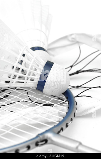 Badminton - Stock Image