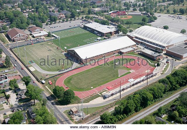 Alabama Tuscaloosa University of Alabama Sewell Thomas Baseball Stadium track and field - Stock Image