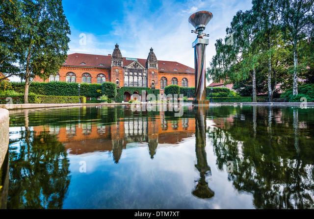 Danish Jewish Museum in Copenhagen, Denmark. - Stock Image
