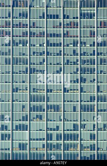 Curtain Wall Texture : Coloured glass panels stock photos