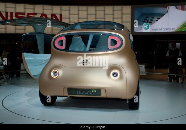 Paris, France, Paris Auto Show, Electric Motor, Concept Car, - Stock Image