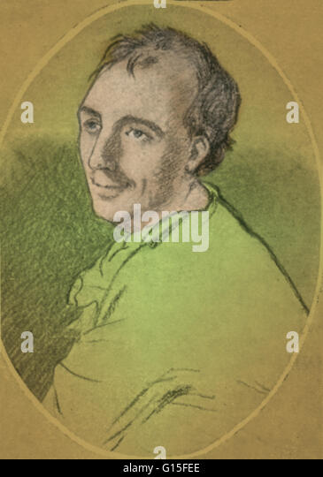 Laurence Eusden (1688-1730) was an English poet who became Poet Laureate in 1718. Eusden, who was thirty years-old - Stock Image