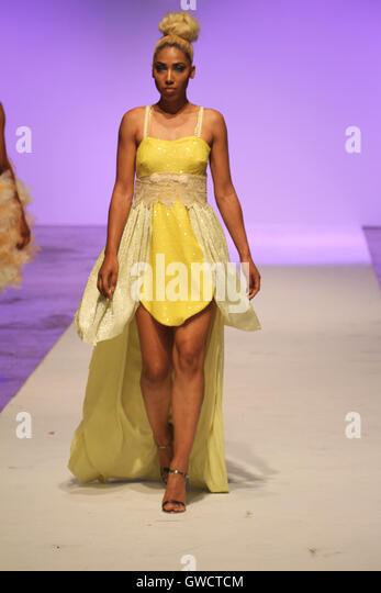 LONDON, UK - September 10: Mary Martin London is showcased at the Africa Fashion Week London. © David Mbiyu/Alamy - Stock Image