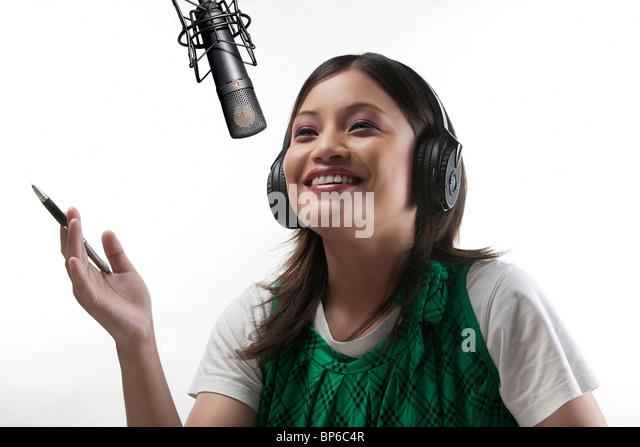 Radio jockey - Stock-Bilder