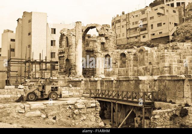 Amman - Jordan - Stock Image