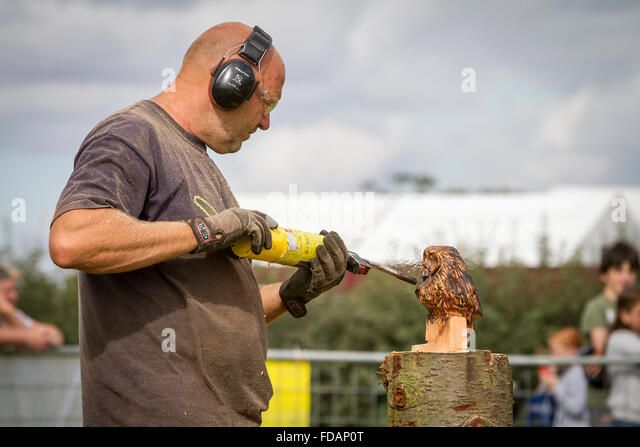 Chainsaw chain saw stihl stock photos