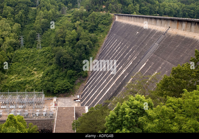 fontana dam men On the road: at the fontana dam, the height is not the most impressive part.