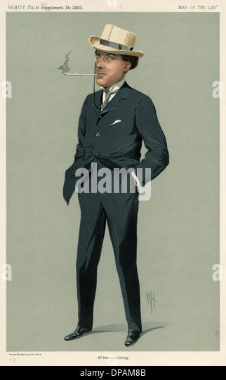 LAURENCE IRVING - Stock Image