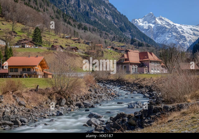Grindelwald, Berner Oberland, Berne, Switzerland, Europe - Stock-Bilder