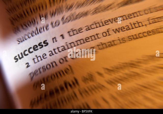 Concept - success - Stock Image