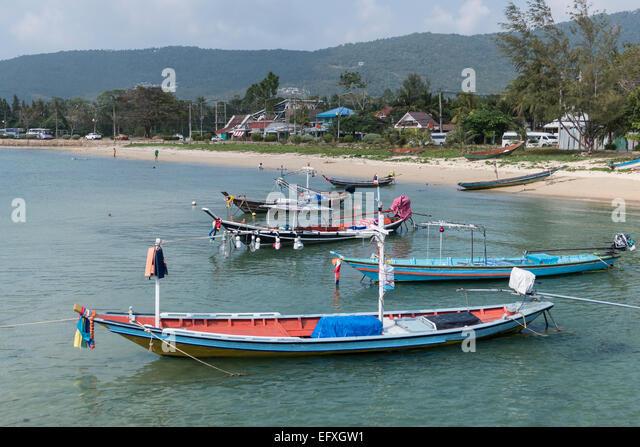 Thailand, Koh Samui, Nathon, beach - Stock-Bilder