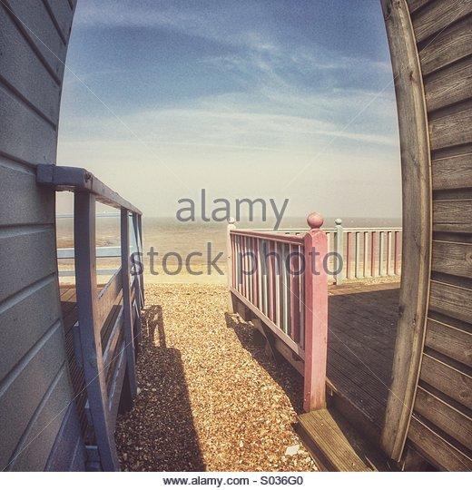Seaside Nostalgia - Stock Image