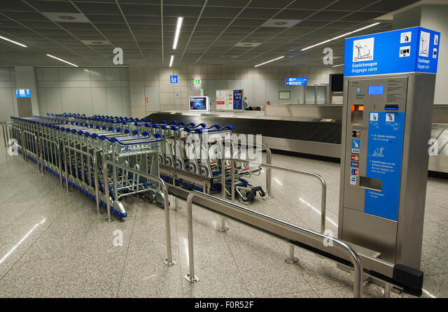 how to get the trolley in airport