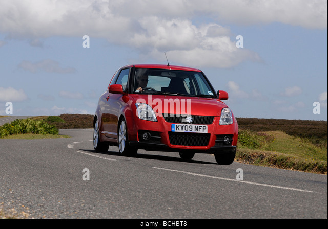 Suzuki Swift Sport 2009 - Stock Image